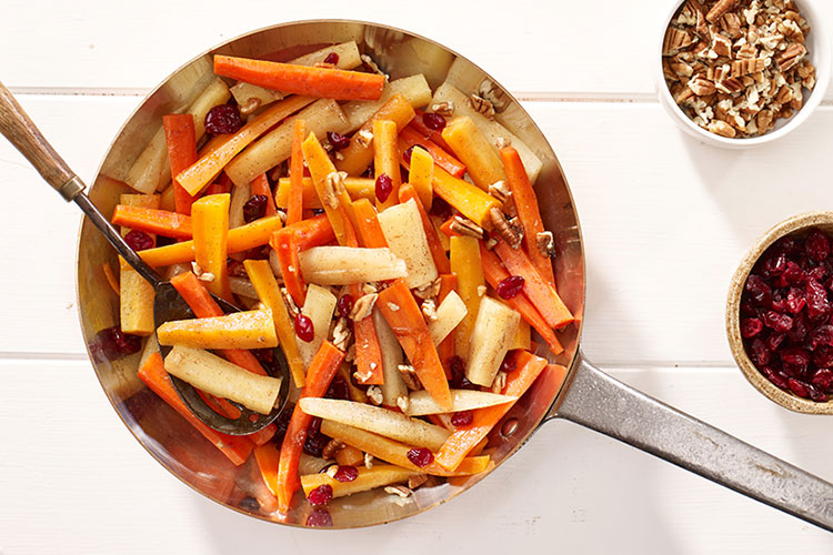 Cranberry Carrot Saute